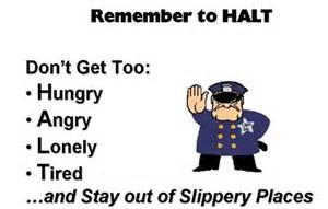 HALT acronym